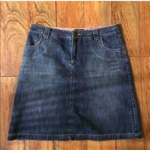 Austin denim skirt